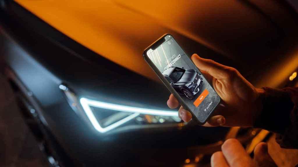 Aplicación para la recarga del vehículo.