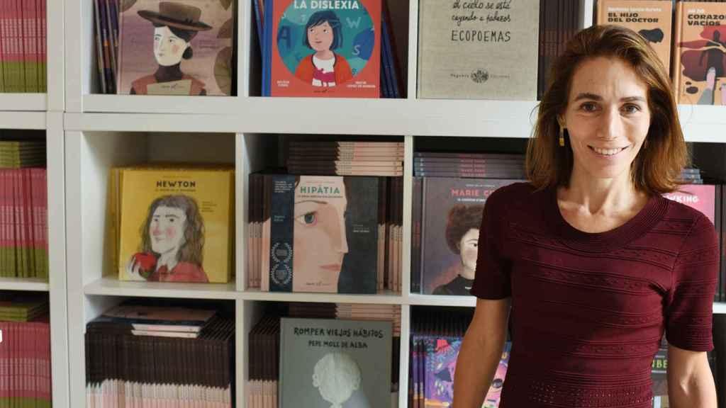Eva Moll de Alba, directora de Vegueta Ediciones.