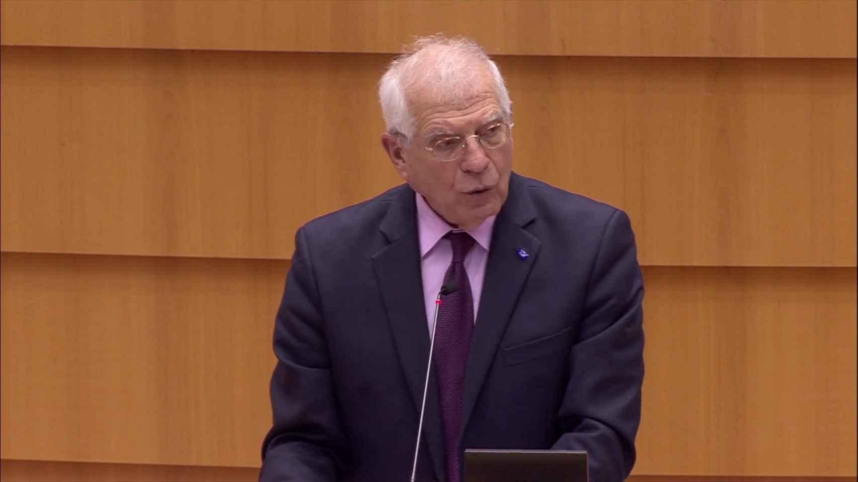 Borrell trabajará en medidas concretas para responder a la deriva en Rusia