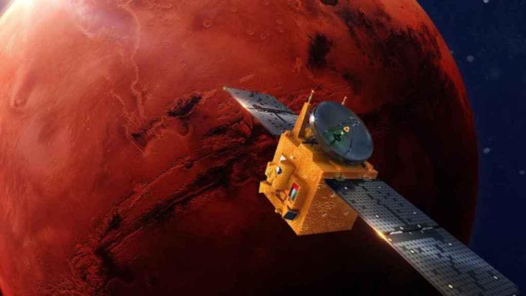 La sonda marciana Hope de los Emiratos Árabes Unidos