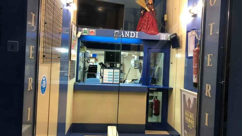 Administración de loterías Candi (Cáceres)