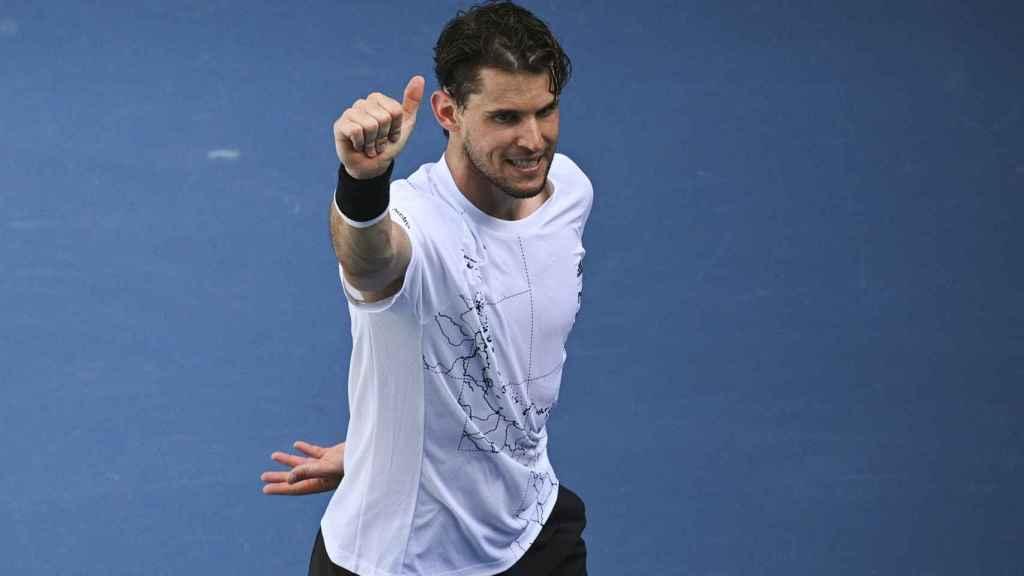 Dominic Thiem, en el Open de Australia