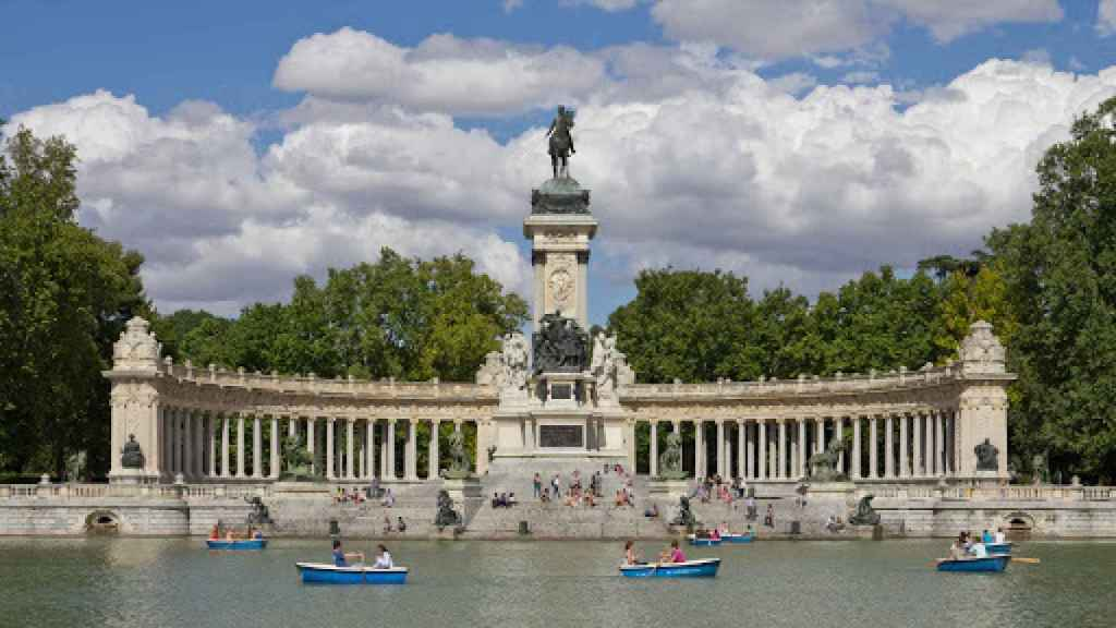 El parque de El Retiro. Europa Press