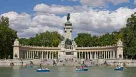 El parque de El Retiro. Europa Press
