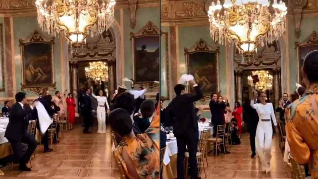 Imágenes de la boda de Beatriz Ungría y Jaime Navarro.