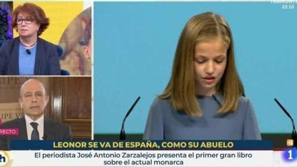 Pantallazo de 'La Hora de TVE' este miércoles.