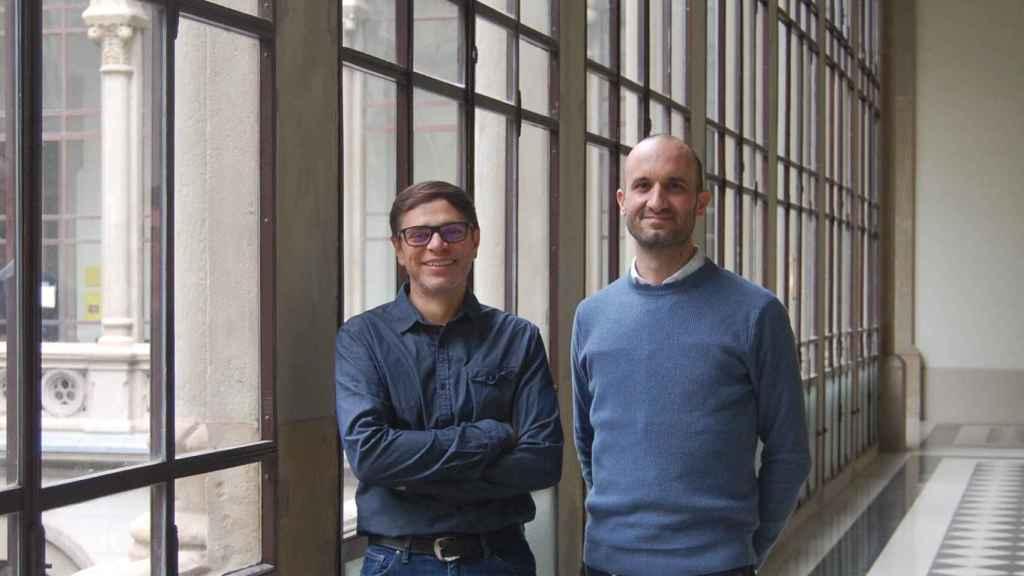 Jordi Soriano y Daniel Tornero, dos de los investigadores del proyecto.