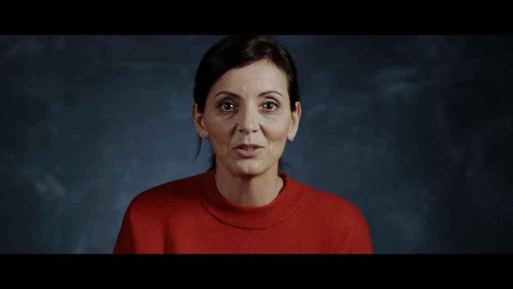 Imagen de Nevenka Fernández en el documental de Netflix.