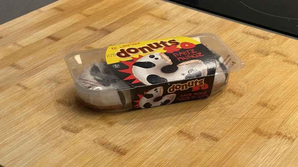 Envase de los nuevos Donuts XO.