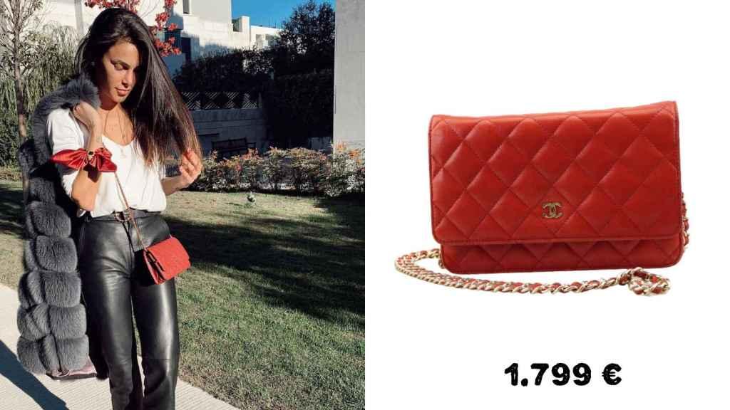 La doctora Barber con un bolso de Chanel que costaba 1.799 euros pero ahora puede encontrarse por la mitad.
