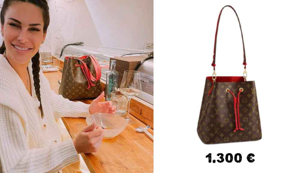 El estilo 'baggy' de Louis Vuitton es uno de los favoritos de Carla. Este cuesta 1.300 euros.