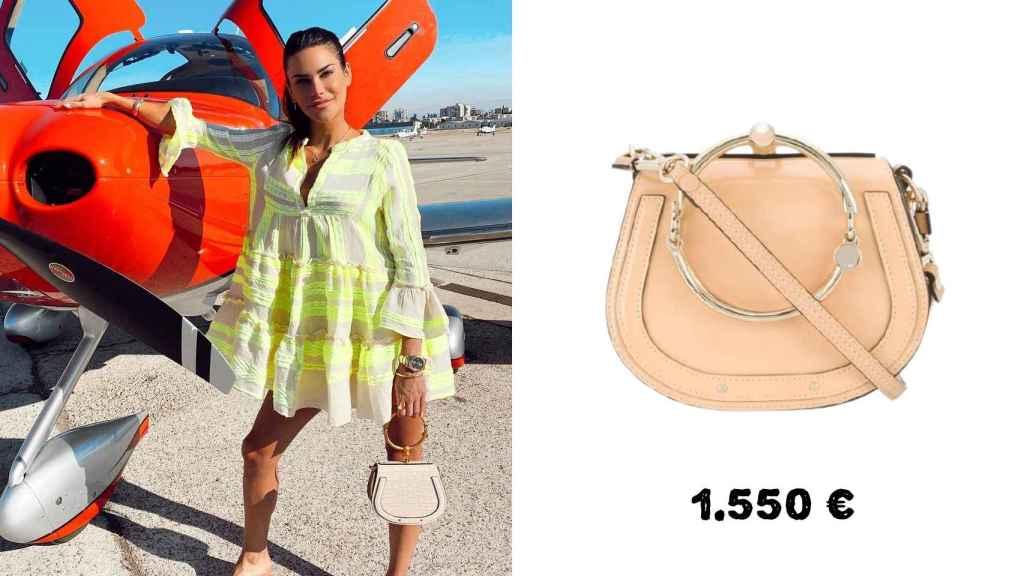 Otro de los bolsos de Chloé de Carla Barber, con un precio de 1.550 euros.
