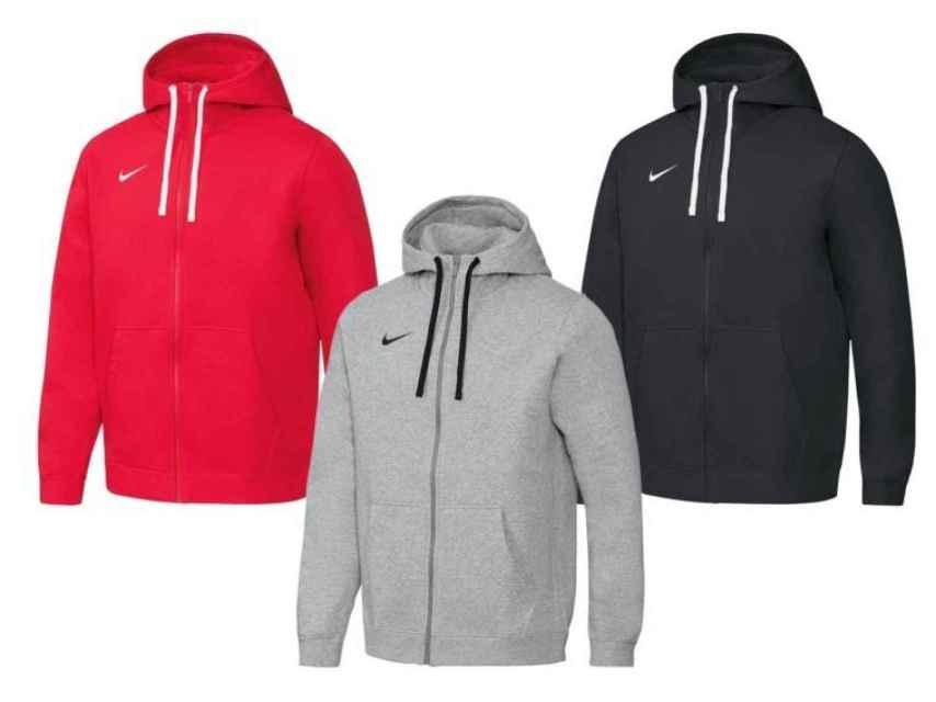 Sudaderas Nike que vende Lidl en su página web.