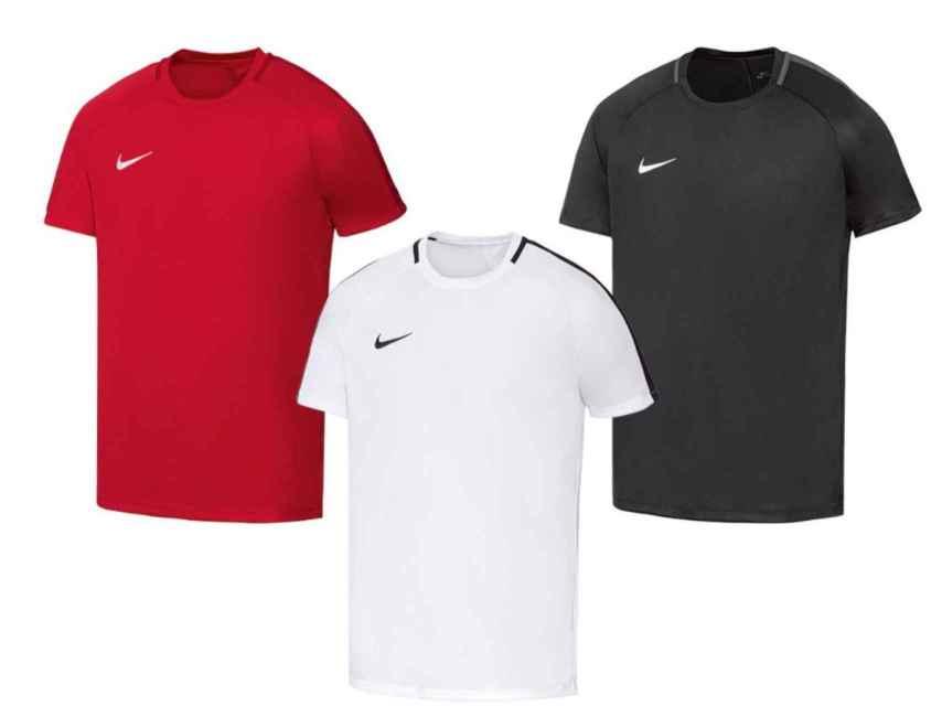 Camisetas Nike que vende el supermercado Lidl.