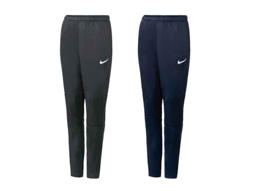 Pantalones de chándal Nike que vende el supermercado.