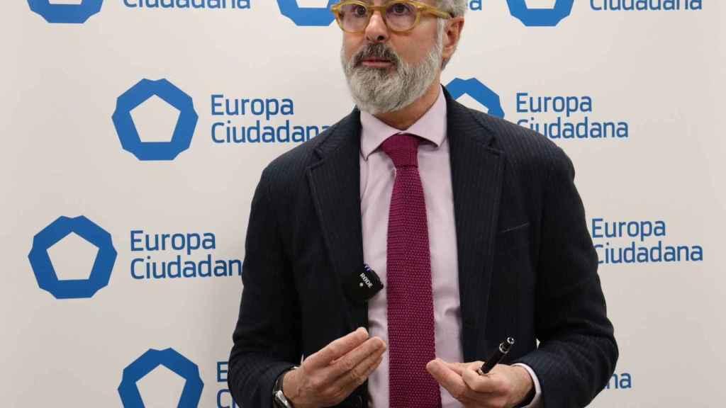José Carlos Cano, presidente de Europa Ciudadana.
