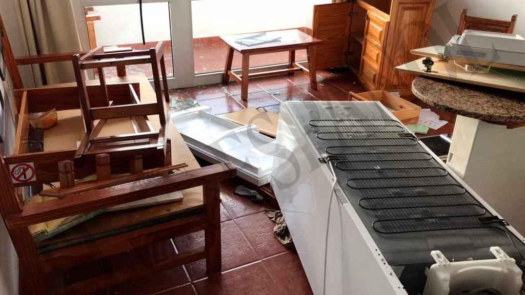 La batalla tuvo lugar en los apartamentos Porto Bello