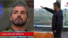 Helder Teixera ha sido expulsado de 'Gran Hermano' por hacer el saludo fascista.