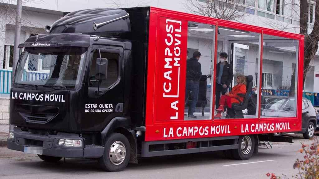 María Teresa Campos presentará 'La Campos móvil' a bordo de un camión.