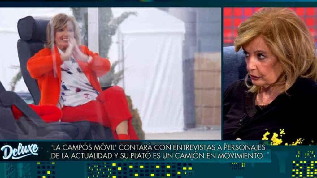 María Teresa Campos estará al frente de 'La Campos móvil'.