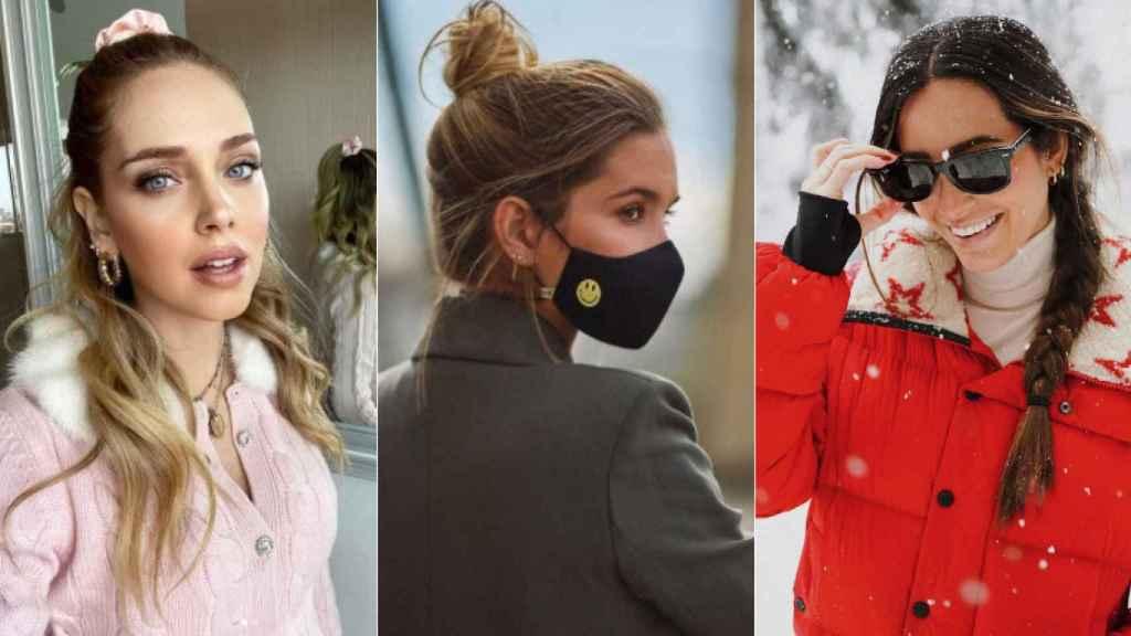 Chiara Ferragni, María Pombo y María Fernández-Rubíes con peinados fáciles para un 'bad hair day'.