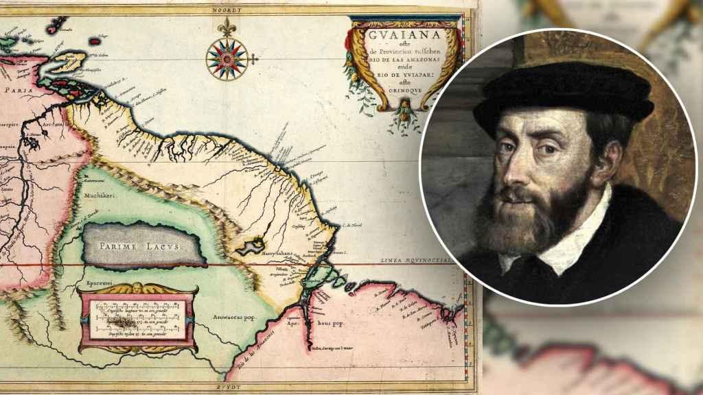 Carlos V y la supuesta ubicación de El Dorado.