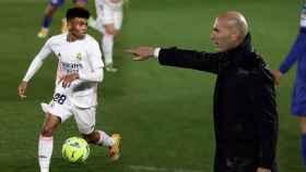 Marvin Park y Zidane, en un fotomontaje