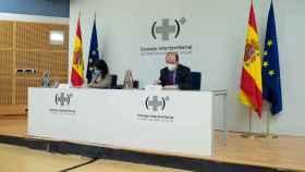 La ministra de Sanidad, Carolina Darias y el ministro de Política Territorial y Función Pública, Miguel Iceta.