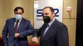 Salvador Illa y José Luis Ábalos han coincidido este miércoles en los estudios de SER Catalunya.