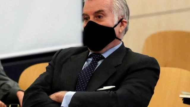 Luis Bárcenas, en su segundo juicio en la Audiencia Nacional.