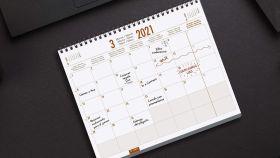 Organiza tu rutina diaria con estos planificadores mensuales