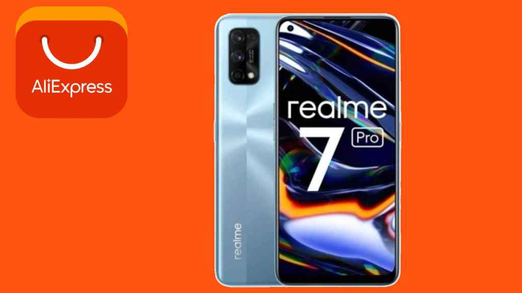 El Realme 7 Pro se puede conseguir por menos de 2 euros en AliExpress.