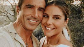 Hugo Sierra e Ivana Icardi, en una imagen de sus redes sociales.