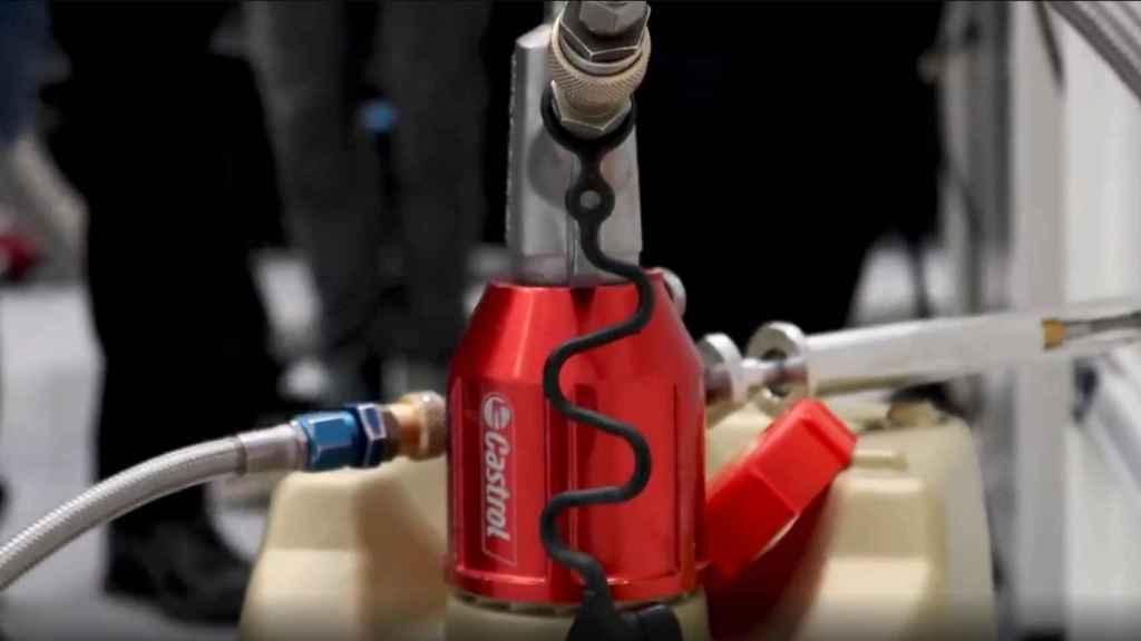 Las pruebas en el motor del A521 de Fernando Alonso