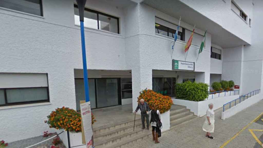 Hospital Santa Ana de Motril al que acudió Carmen en 2006.