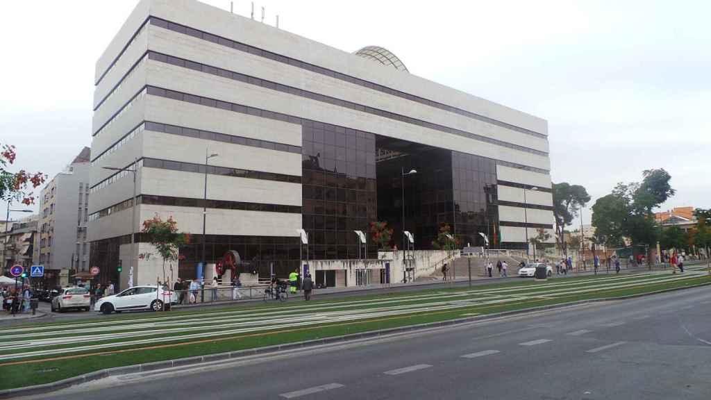 La sede de los juzgados de Granada.