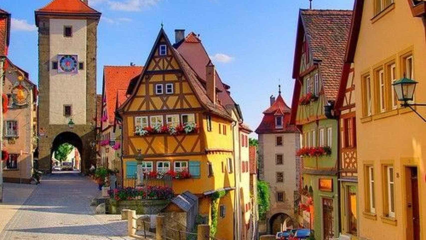 Rothenburg ob der Tauber, Alemania
