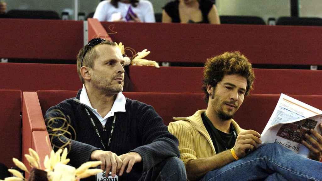 Miguel Bosé y Nacho Palau en una imagen de archivo.