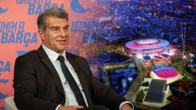 Laporta presenta su 'Espai Barça'
