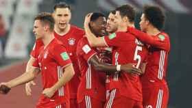 El Bayern celebra un gol en la final del Mundial de Clubes