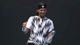 Feliciano López, en el Open de Australia