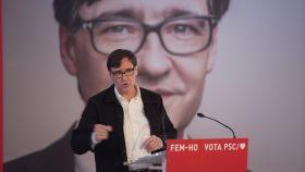 Salvador Illa, candidato del PSC a la Presidencia de la Generalitat de Cataluña.
