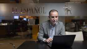 Cristian Campos, jefe de Opinión de EL ESPAÑOL, en su charla con los suscriptores.