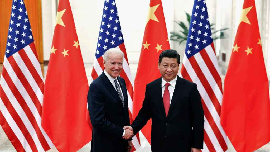 Joe Biden y Xi Jinping, presidentes de Estados Unidos y China, respectivamente.