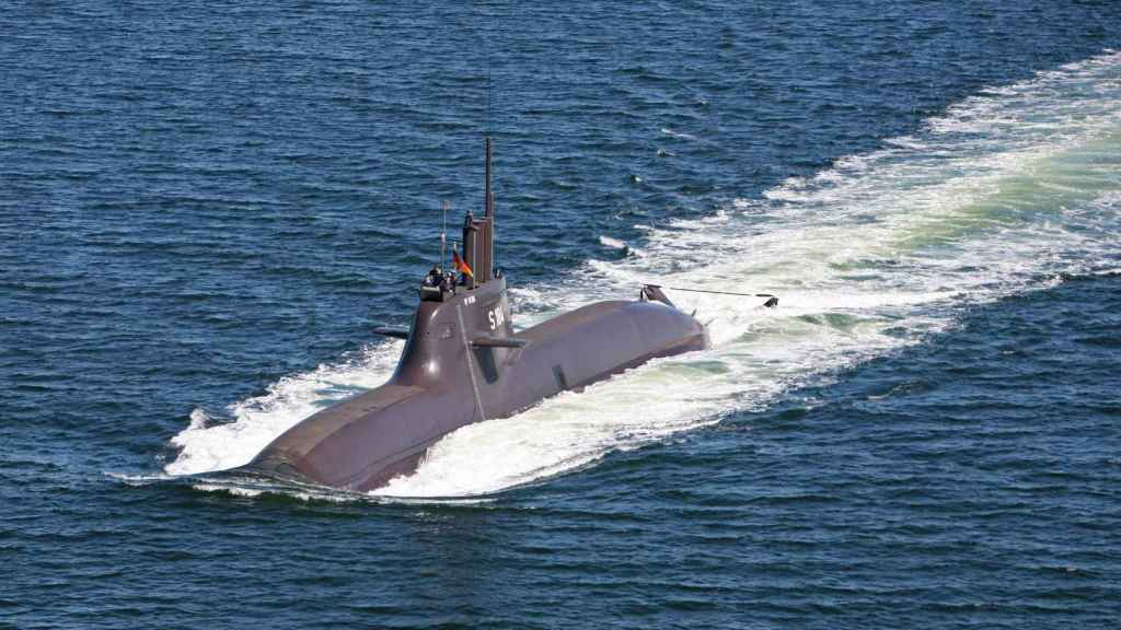 U-34, submarino hermano al U-36 que equipa el sistema de reducción de ruido