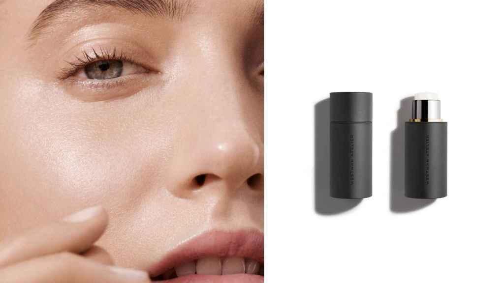 Gucci Westman defiende la idea de un maquillaje con brillo y ligera textura.