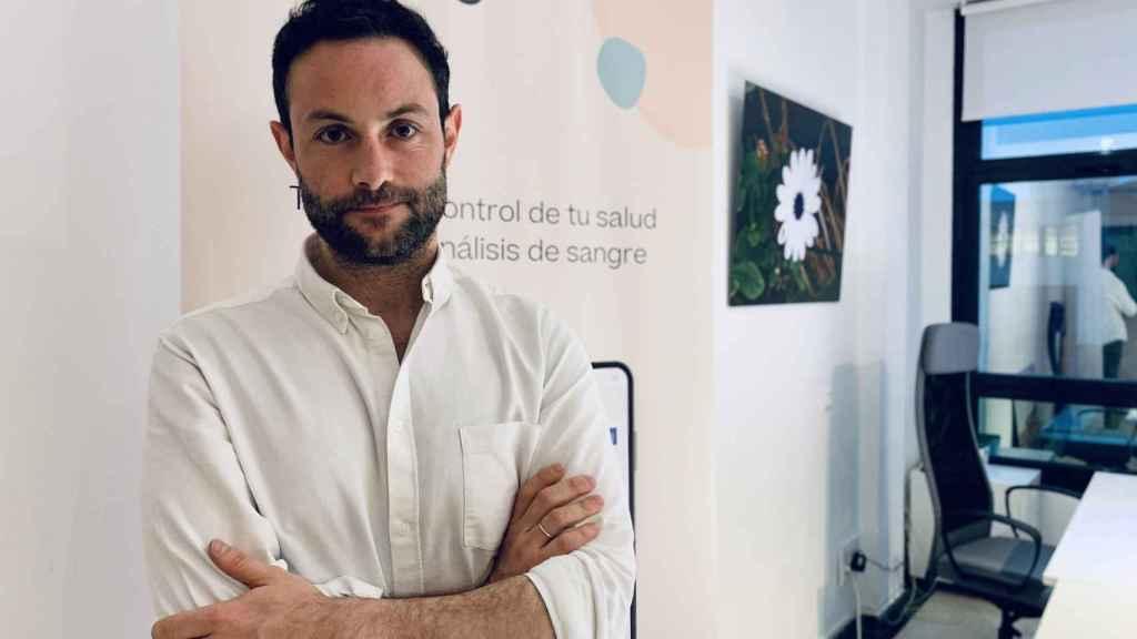 Mario Cantero, CEO de Melio, en sus oficinas.