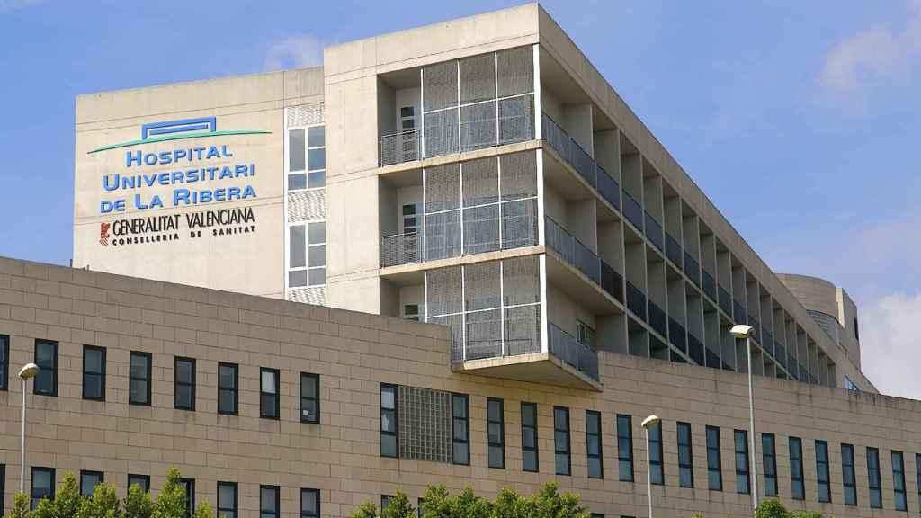 Vista del Hospital de la Ribera. EE