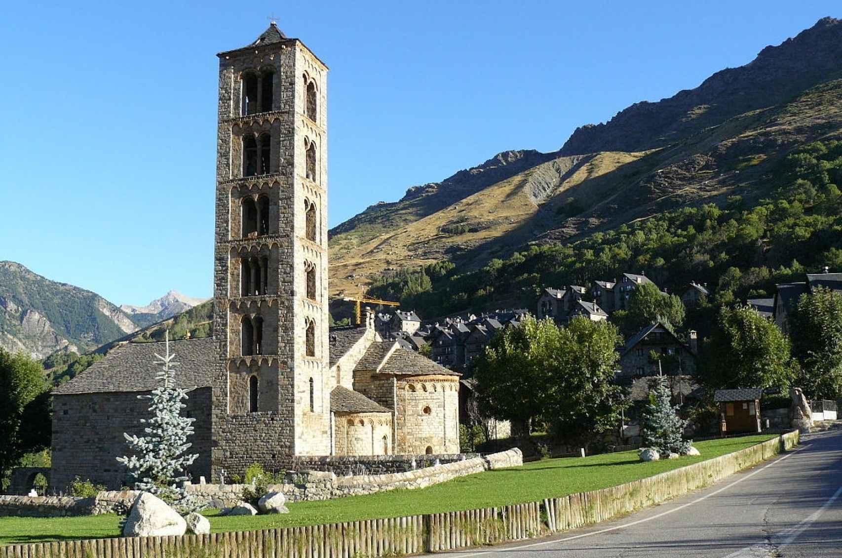Iglesia románica de San Clemente de Tahull.