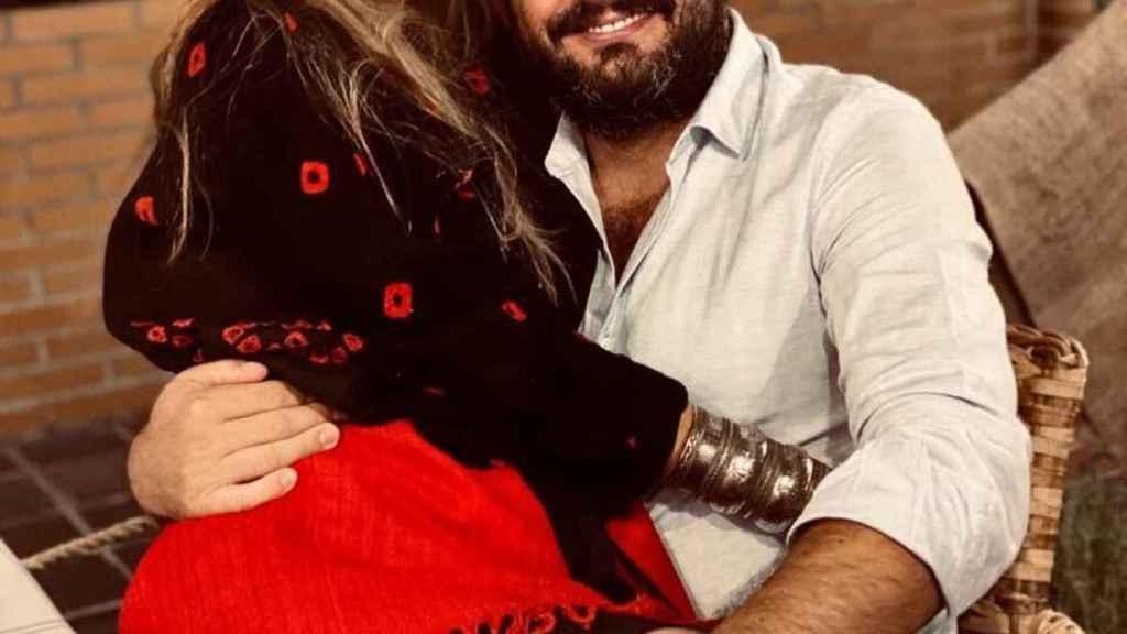 Emiliano Suárez y Carola Baleztena en una imagen de sus redes sociales.
